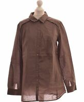 Chemise Sud Express Taille 38 - T2 - M Marron