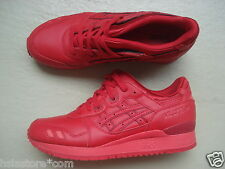 "Asics Gel Lyte III/3 42.5 ""Monochrome Pack"" Red/Red"