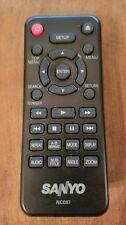 Sanyo Remote Control NC087