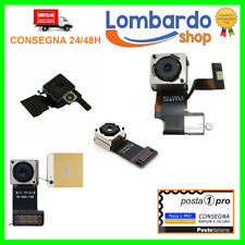 FOTOCAMERA POSTERIORE RETRO PER APPLE IPHONE 4 5 5S 5C 6 6S PLUS 7 8 RICAMBIO