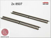 Z 1:220 Maßstab Märklin Mini-Club Gleise Tracks Rails Set 112,8mm