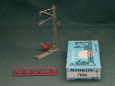 Märklin H0 409 MA - 7010 Poteau prise de courant / Anschlussmast, 1952 - 1974 !