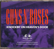 Guns N' Roses Knockin' On Heaven's Door RARE Out of Print import CD single '92