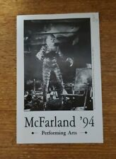 McFarland Performing Arts 1994 Catalog Creature From The Black Lagoon