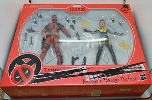 Hasbro Marvel Legends Deadpool & Negasonic Teenage Warhead Deadpool 2