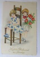 Geburtstag, Kinder, Mode, Blumen, 1933, Hannes Petersen  ♥ (41029)