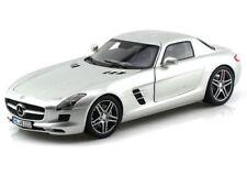 Norev 183490 2010 Mercedes Benz SLS AMG Coupe 1:18 Model Car Silver