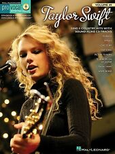 TAYLOR SWIFT - Womens Pro Vocal Book & CD *NEW* Lyrics & Music Inc. Love Story