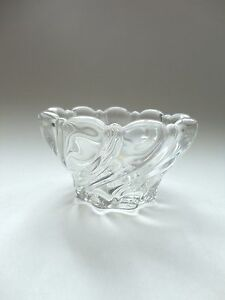 MIKASA CANDLEHOLDER {Clear} Made in Germany