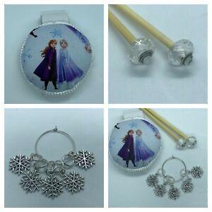 Disney Frozen Knitting Gift Set Handmade