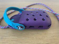 CROCS Phone Holder Case. Neck Strap Belt Hook. Retro Purple Rare