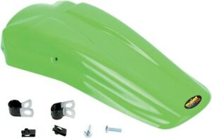 Maier Mfg MX Style Rear Fender For Kawasaki KLX Green 145413