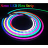 DC5V LED Neon Sign pixels ws2812 ws2812b RGB Addressable Silica Gel Strip 1m 2m