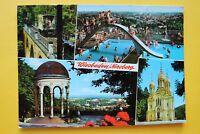 Hessen AK Wiesbaden 1977 Neroberg Schwimmbad Nerobergbahn Zahnradbahn Ort 10