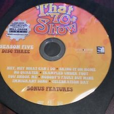 That 70's Show Season 5 (DVD) REPLACEMENT DISC #3