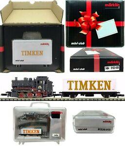 MARKLIN Z SCALE M/M 1484 Timkin  Fun Starter Set  C9 Original Box