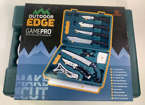 Outdoor Edge GAME PRO ELEVEN PIECE GAME PROCESSING SET NEW