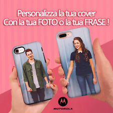 PERSONALIZZA LE TUE COVER CON LA TUA FOTO CUSTOMIZE MOTOROLA E4  E4 PLUS CASE