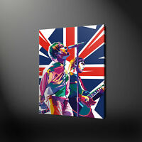 OASIS LIAM NOEL GALLAGHER CANVAS PRINT PICTURE WALL ART FREE FAST DELIVERY