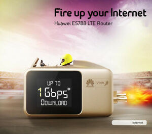 UNLOCKED Huawei E5788 (E5788u-96a) 4G Gigabit LTE Cat.16 1Gbps Mobile Hotspot