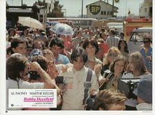 AL PACINO ANNY DUPEREY    BOBBY DEERFIELD 1977 VINTAGE LOBBY CARD ORIGINAL #9