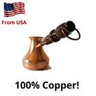 CEZVE Turkish Armenian COFFEE POT MAKER CEZVE IBRIK Jezve Turka Copper 400 ml