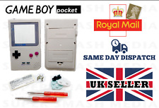 GAME BOY POCKET RETRO DMG-01 HOUSING SHELL CASING COMPLETE MOD KIT