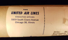 United Air Line Posters (January 15, 1959)