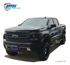 Extension Style Paintable Fender Flares Fits Chevrolet Silverado 1500 19-20