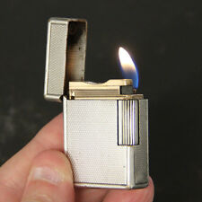 ST DUPONT Sml Line1 Vintage Silver pl. BS OLD Lighter Briquet Feuerzeug NO LEAKS