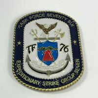 """US Navy Task Force 76 (TF 76) ESG-7 Command Master Chief 1.5"""" Challenge Coin"""