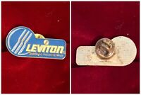 LEVITON Building A Connected World Electrical Wiring Promo Enamel Lapel Hat Pin