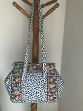 VERA BRADLEY HOOSIER BAG DELFT RETIRED VERY RARE EXCELLENT CONDITION