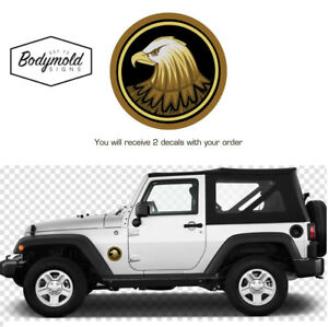 Golden Eagle Jeep round logo