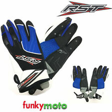Guantes RST color principal azul para motoristas