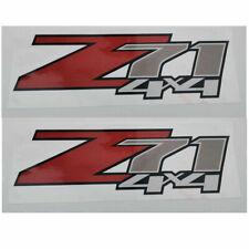 2 Pack  Z71 4x4 F Chevy 07-13 Decal Sticker Parts for Silverado GMC Sierra truck