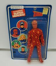 Rare Vintage Mego 1979 Human Torch Unopened On Card. Pin Pin Toys