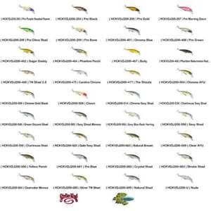 Strike King Jerkbait KVD 200 (HCKVDJ200) Pick Any 36 Colors SUSPENDING Lure