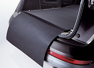 Genuine Audi Q3 Reversible Boot Mat with Bumper Protection (2012-2019)