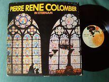 PIERRE RENE COLOMBIER, sax soprano : In eternam - LP 1974 French RIVIERA 521.211