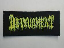 DEVOURMENT BRUTAL DEATH METAL WOVEN PATCH