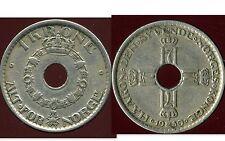 NORVEGE 1 krone 1950  ( bis )