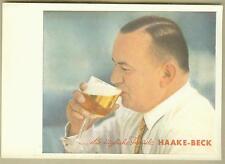 Alte Werbung Ansichtskarte Haake Beck Bremen viel getrunken Vechta Cloppenburg