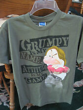 DISNEY GRUMPY - MEN'S SIZE SMALL - TEE SHIRT