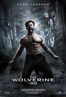 The Wolverine Zweiseitig Original Kinofilm Plakat Hugh Jackman Stil C Selten