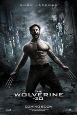 The Wolverine DOUBLE SIDED ORIGINAL MOVIE film POSTER Hugh Jackman Style C RARE!
