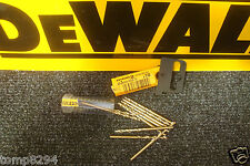 PACK OF 10 X DT5539 DEWALT EXTREME 2        3MM  HSS-G METAL DRILL BITS