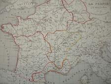 LA FRANCE à la mort de  Clovis en 510