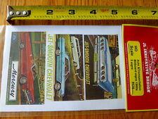 JL Innovative Design HO #174 Auto & Transportation Billboard Signs 1960's(5 Sign
