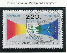 TIMBRE FRANCE OBLITERE N° 2572 ELECETION PARLEMENT / Photo non contractuelle